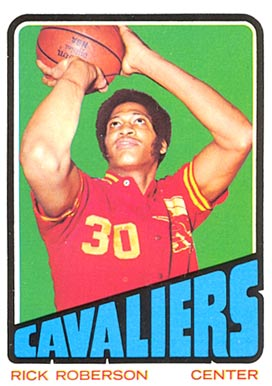 1972 Topps Rick Roberson #126 Basketball Card