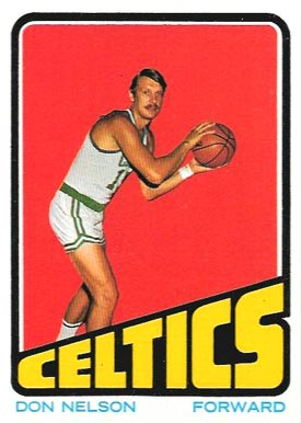 1972 Topps Don Nelson #92 Basketball Card