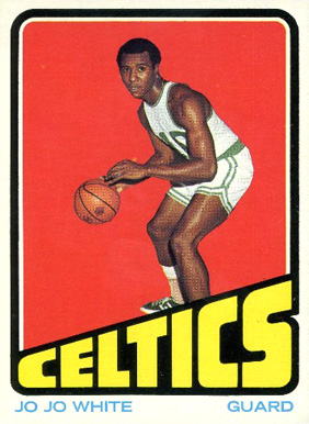 1972 Topps Jo Jo White #45 Basketball Card