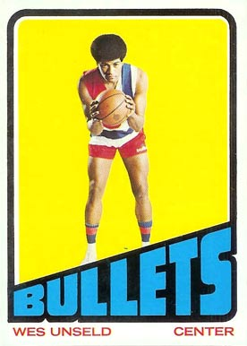 1972 Topps Wes Unseld #21 Basketball Card