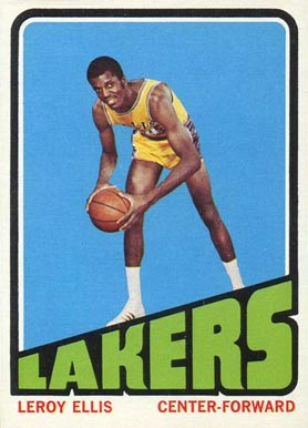 1972 Topps Leroy Ellis #18 Basketball Card