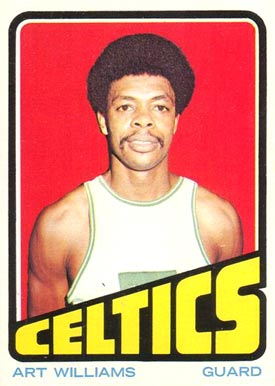 1972 Topps Art Williams #19 Basketball Card