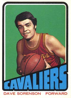 1972 Topps Dave Sorenson #12 Basketball Card