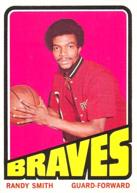 1972 Topps Randy Smith #8 Basketball Card