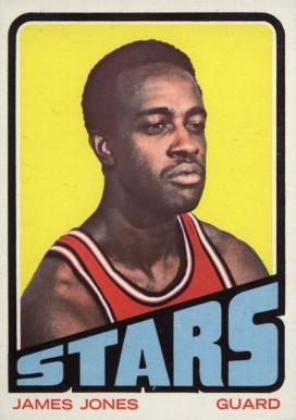 1972 Topps James Jones #229 Basketball Card