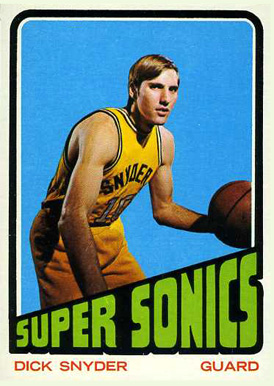 1972 Topps Dick Snyder #136 Basketball Card