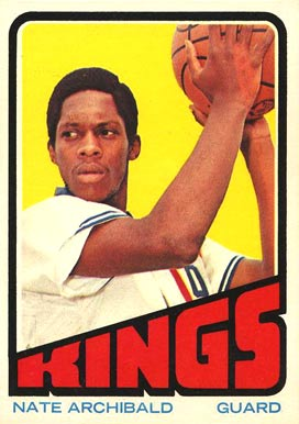 1972 Topps Nate Archibald #115 Basketball Card