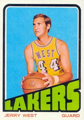 1972 Topps Jerry West #75 Basketball Card