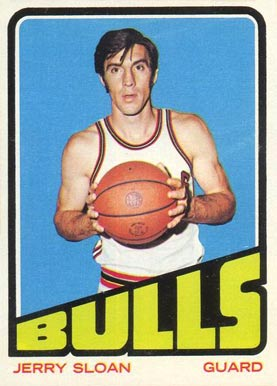 1972 Topps Jerry Sloan #11 Basketball Card