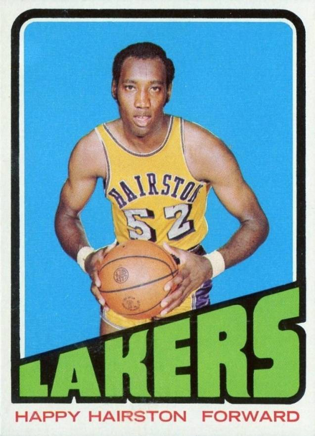 1972 Topps Happy Hairston #121 Basketball Card