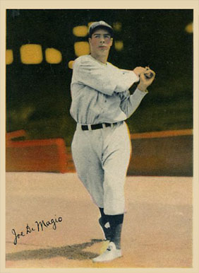 1936 R312 Joe DiMaggio #20 Baseball Card