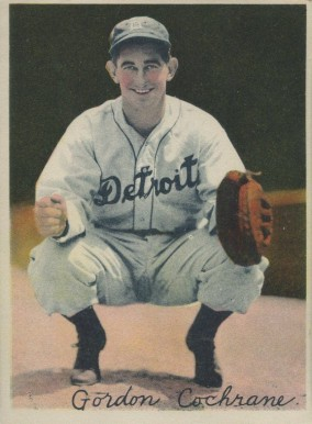 1936 R312 Mickey Cochrane #12 Baseball Card