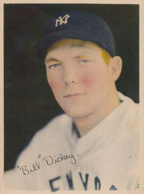 1936 R312 Bill Dickey #19 Baseball Card