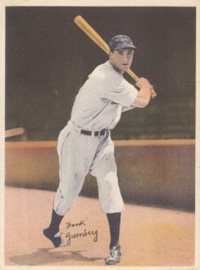 1936 R312 Hank Greenberg #28 Baseball Card