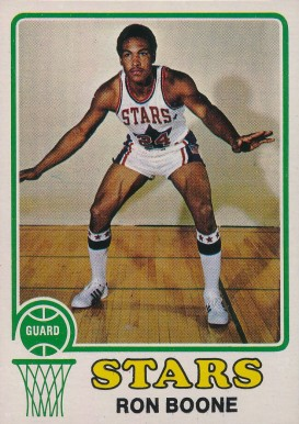 1973 Topps Ron Boone #217 Basketball Card