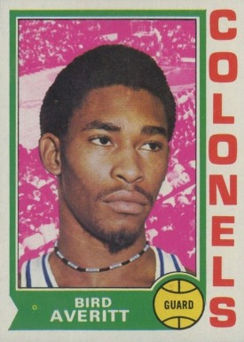1974 Topps Bird Averitt #231 Basketball Card