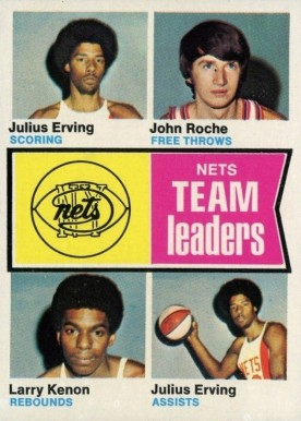 1974 Topps Julius Erving #226 Basketball Card