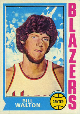 1974 Topps Bill Walton #39 Basketball Card