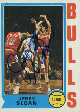 1974 Topps Jerry Sloan #51 Basketball Card