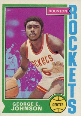 1974 Topps George Johnson #54 Basketball Card