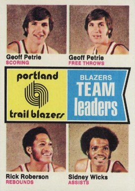 1974 Topps Trailblazers Team Leaders #96 Basketball Card