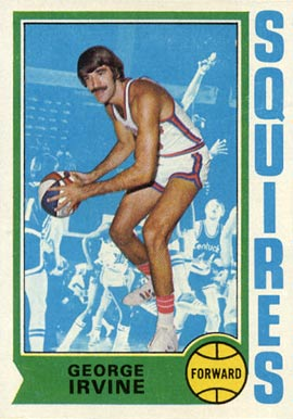1974 Topps George Irvine #233 Basketball Card