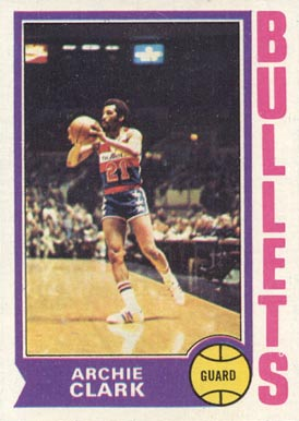 1974 Topps Archie Clark #172 Basketball Card