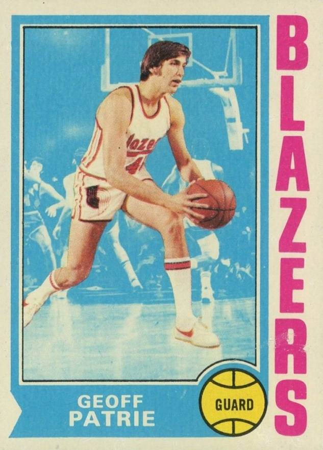 1974 Topps Geoff Petrie #110 Basketball Card