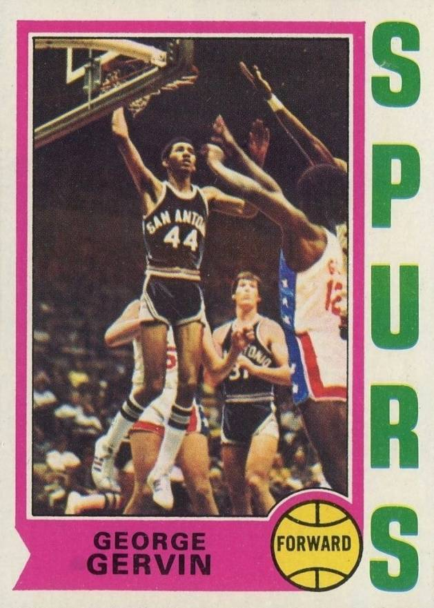 1974 Topps George Gervin #196 Basketball Card