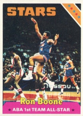 1975 Topps Ron Boone #235 Basketball Card