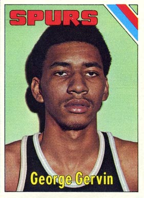 1975 Topps George Gervin #233 Basketball Card