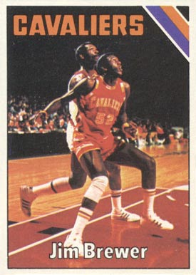 1975 Topps Jim Brewer #46 Basketball Card