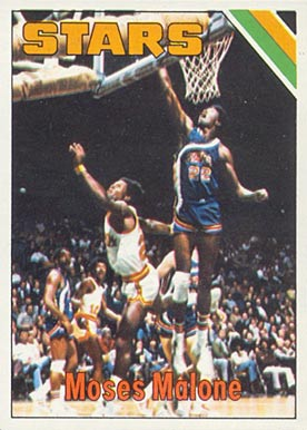 1975 Topps Moses Malone #254 Basketball Card