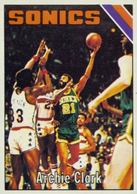 1975 Topps Archie Clark #96 Basketball Card