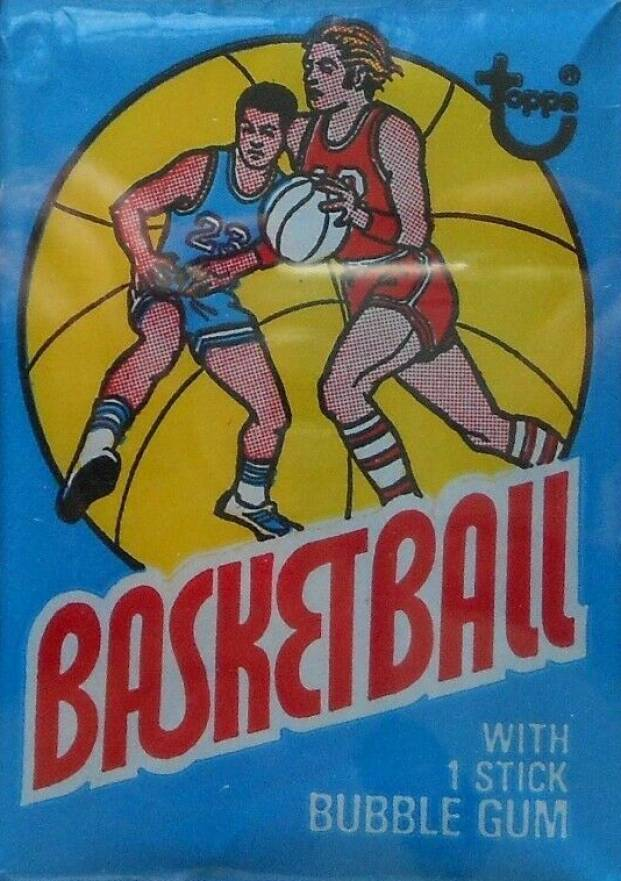 1975 Topps Wax Pack #WP Basketball Card