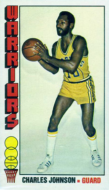 1976 Topps Charles Johnson #137 Basketball Card