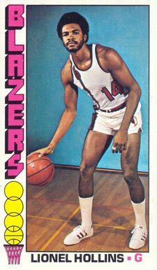 1976 Topps Lionel Hollins #119 Basketball Card