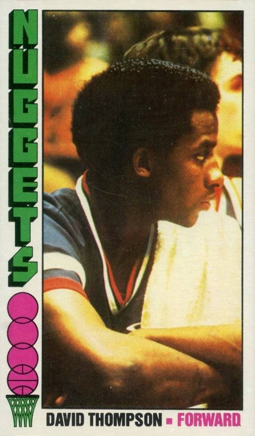 1976 Topps David Thompson #110 Basketball Card
