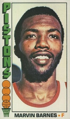 1976 Topps Marvin Barnes #35 Basketball Card