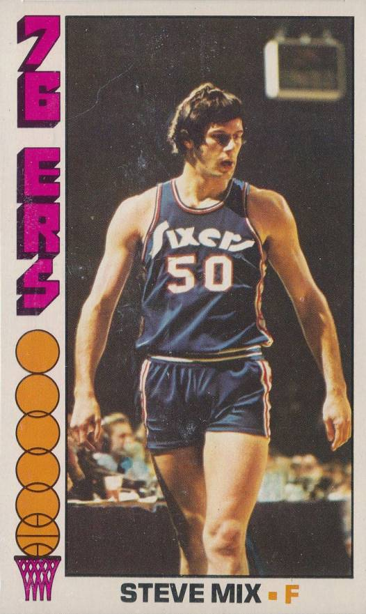1976 Topps Steve Mix #21 Basketball Card