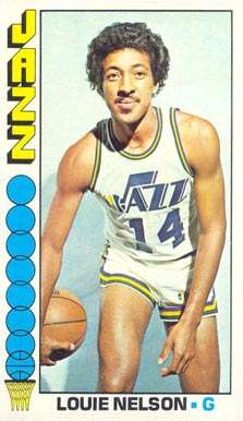 1976 Topps Louie Nelson #17 Basketball Card