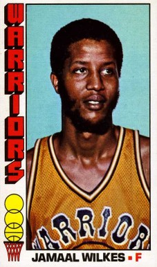 1976 Topps Jamaal Wilkes #16 Basketball Card
