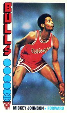 1976 Topps Mickey Johnson #14 Basketball Card