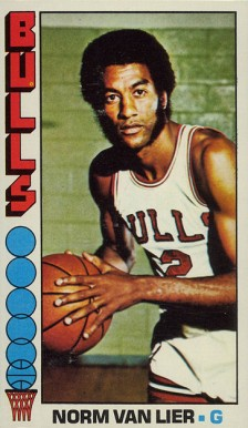 1976 Topps Norm Van Lier #108 Basketball Card