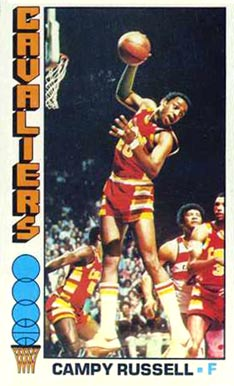 1976 Topps Campy Russell #23 Basketball Card