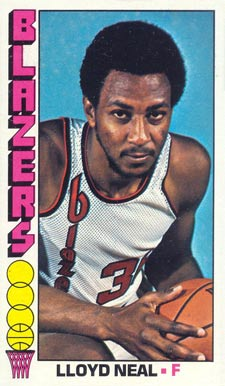 1976 Topps Lloyd Neal #7 Basketball Card