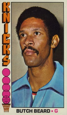 1976 Topps Butch Beard #6 Basketball Card