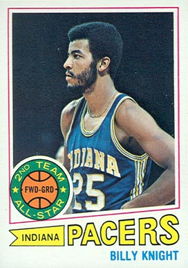 1977 Topps Billy Knight #110 Basketball Card