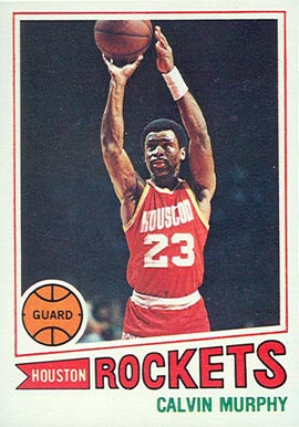 1977 Topps Calvin Murphy #105 Basketball Card