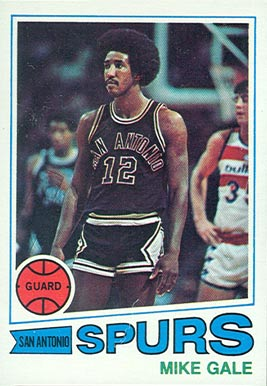 1977 Topps Mike Gale #79 Basketball Card